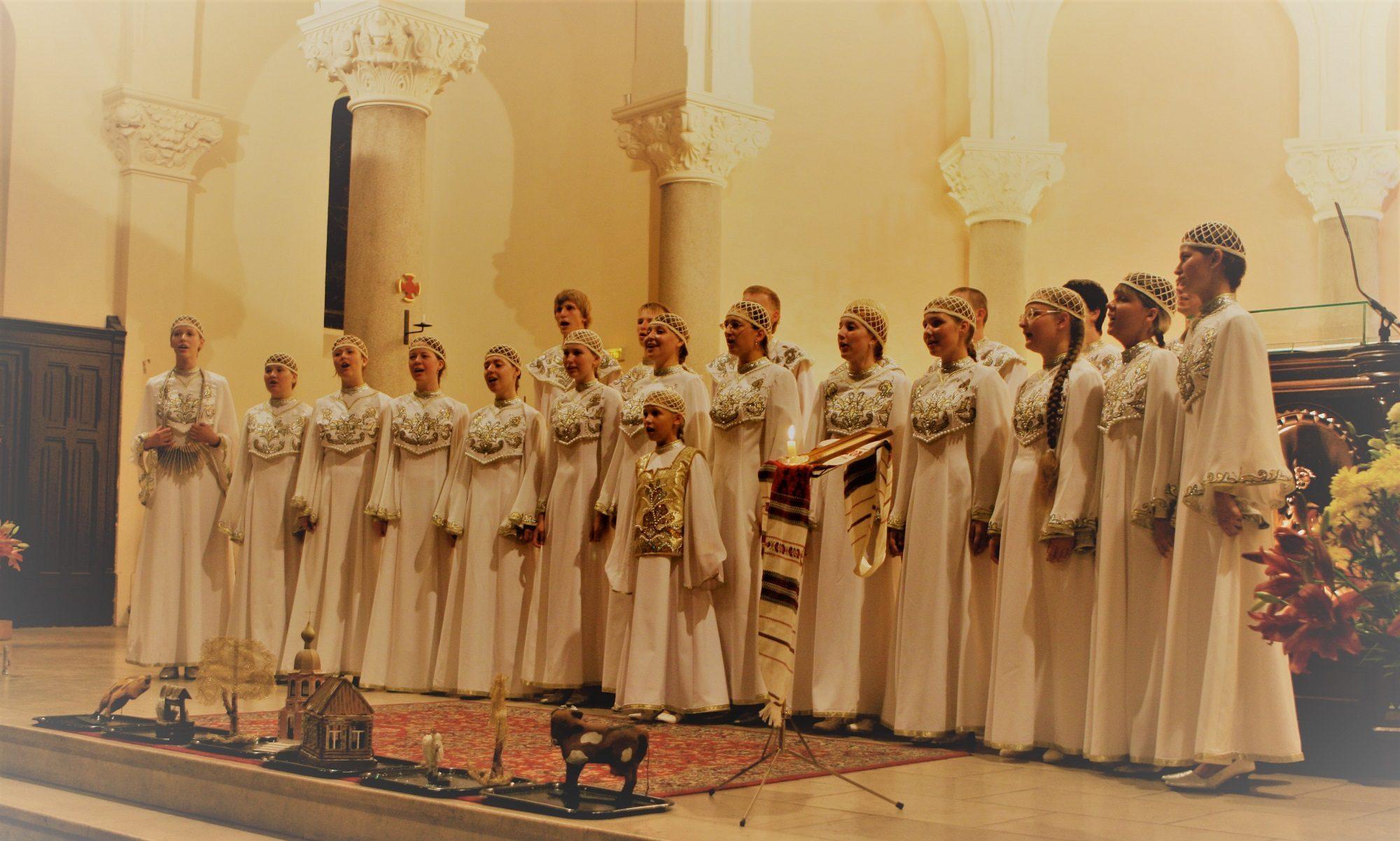 Forum des chorales des peuples eurasiens